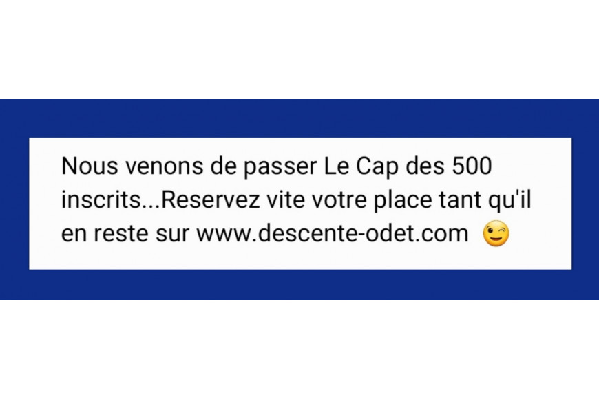 Les inscriptions avancent à grand coup de pagaie